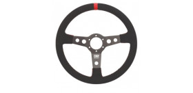 Volant Rallye OMP Sport peau retournée