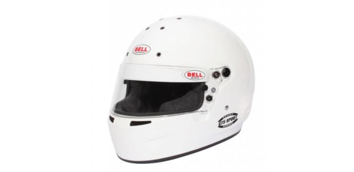 CASQUE FIA Intégral BELL GT5 Sport 8859 2015 blanc sans clip hans