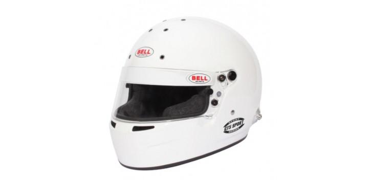 CASQUE FIA Intégral BELL GT5 Sport 8859 2015 blanc avec clips hans