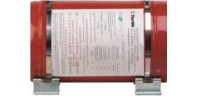 KIT 2 SUPPORTS AVEC SANGLES pour extincteur OMP CA/372