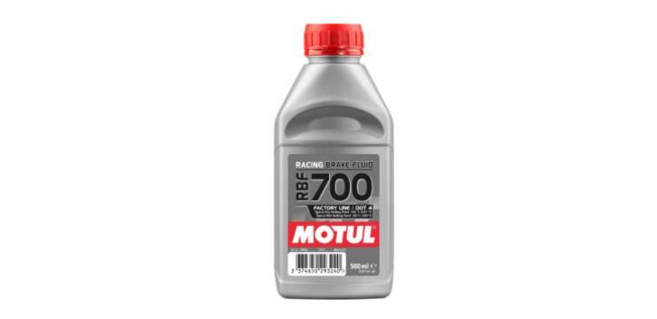 Liquide de frein MOTUL RBF 700 DOT4 non miscible 500ML