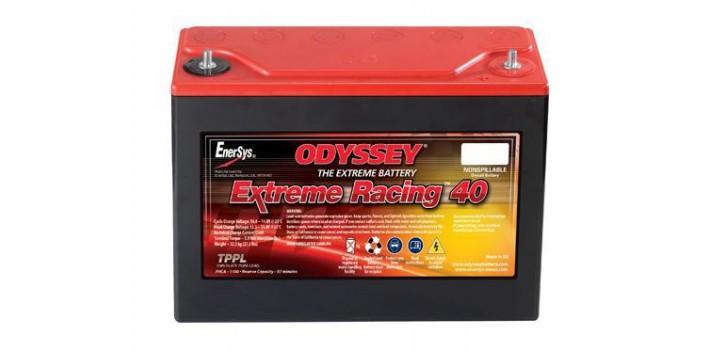 Batterie Compétition Odyssey 40 PHCA 1100/50 Ah 250/97/206/12kg