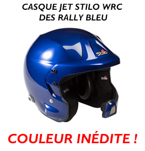 Casque Stilo bleu metal