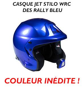 Casque Stilo bleu metal